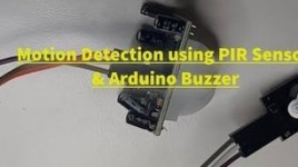 How to Use PIR Sensor and a Buzzer Module – Visuino Tutorial