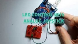 Arduino LED Control With Analog Joystick