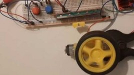 Arduino Control DC Motor Speed and Direction Using a Potentiometer & Buttons