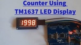 Arduino Counter Using TM1637 LED Display