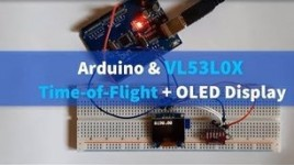 VL53L0X Time-of-Flight + OLED Display
