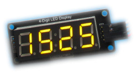 Display Time on TM1637 LED Display Using RTC DS1307