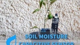 Arduino Plant Monitor With Soil Capacitive Sensor