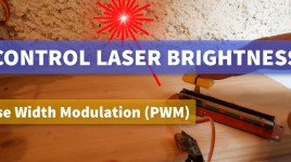 Controlling LASER Brightness With a Potentiometer