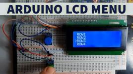 Arduino LCD Menu – Simple Tutorial