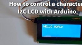 How to Use a 20×4 I2C Character LCD Display With Arduino