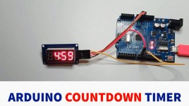 4-Digit Countdown Timer (Minutes and Seconds) – Arduino Tutorial