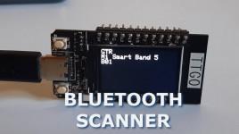 ESP32 TTGO Bluetooth Device Scanner