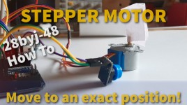 Move a Stepper Motor to an Exact Position