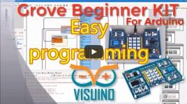 Programming Seeeduino Lotus Grove Beginner KIT for Arduino – Quick and Easy with Visuino