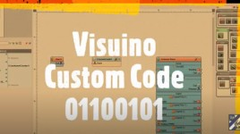 How to use Visuino Custom Code – Part1