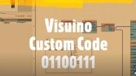 How to use Visuino Custom Code – Part3