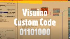 How to use Visuino Custom Code – Part4
