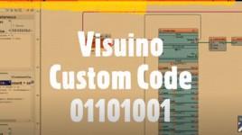 How to use Visuino Custom Code – Part5