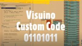 How to use Visuino Custom Code – Part7