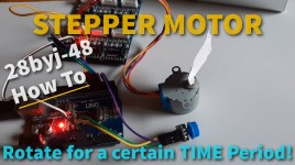 Arduino Stepper Motor Running for a Specific Time