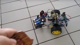 Control Smart Robot With Remote Control Module