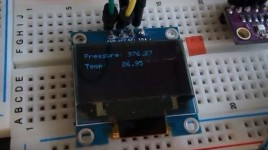 How to use BMP280 Pressure and Temperature Sensor
