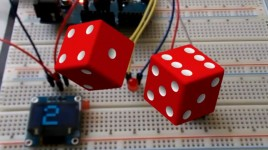 How to make a Rolling Dice Using OLED Display