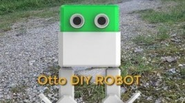Otto DIY Robot Walking