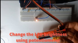 Controlling LED Brightness With a Potentiometer